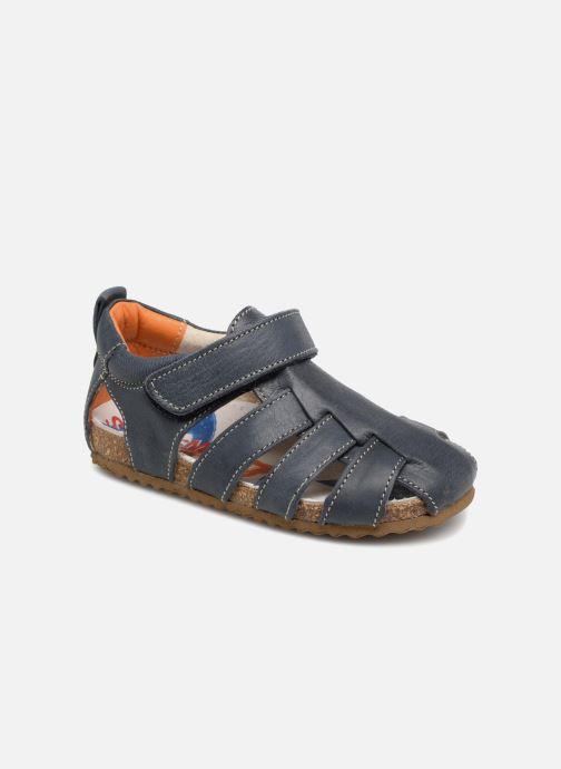 Sandalen Shoesme Stuart Blauw detail