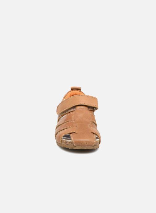 Sandales et nu-pieds Shoesme Stuart Marron vue portées chaussures