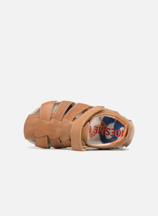 Sandalen Shoesme Stuart Bruin links