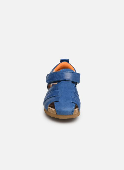 Sandales et nu-pieds Shoesme Stuart Bleu vue portées chaussures