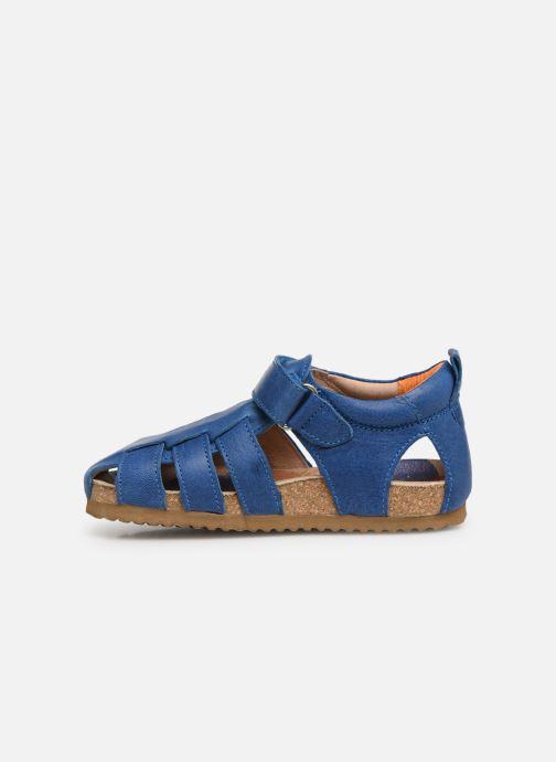 Sandals Shoesme Stuart Blue front view