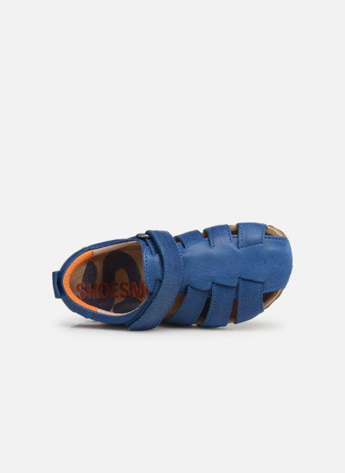 Sandals Shoesme Stuart Blue view from the left