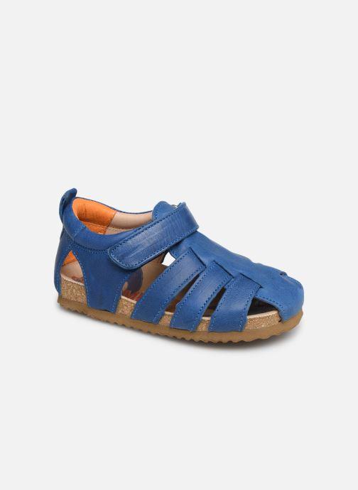 Sandals Shoesme Stuart Blue detailed view/ Pair view