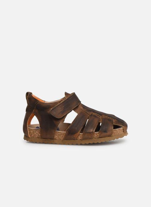 Sandalen Shoesme Stuart braun ansicht von hinten