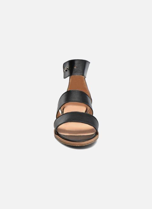 Sandalen Yep Martine schwarz schuhe getragen