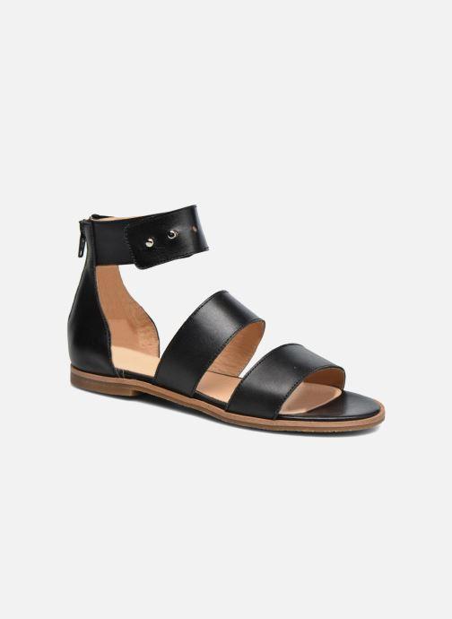 Sandaler Yep Martine Sort detaljeret billede af skoene