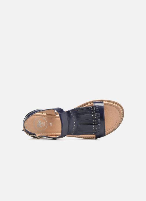 Sandales et nu-pieds Yep Melody (1371) Bleu vue gauche