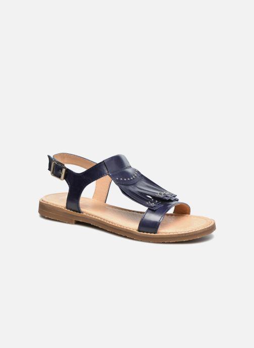 Sandaler Yep Melody (1371) Blå detaljeret billede af skoene