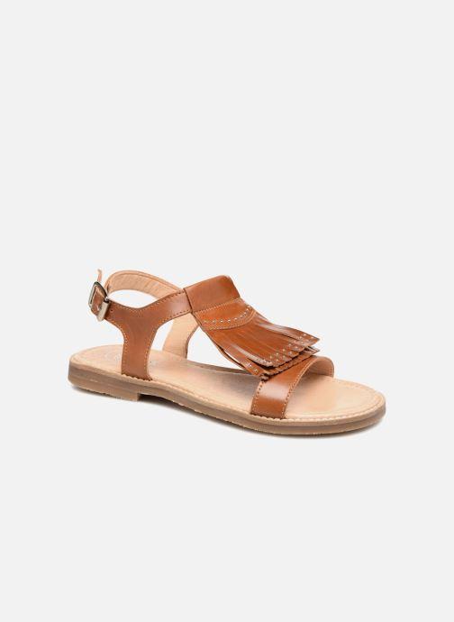 Sandales et nu-pieds Yep Melody (1371) Marron vue détail/paire