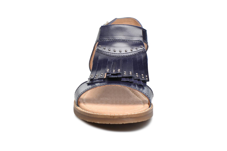 Sandales et nu-pieds Yep Melody (1371) Bleu vue portées chaussures