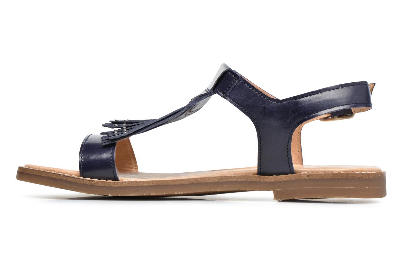 Sandales et nu-pieds Yep Melody (1371) Bleu vue face