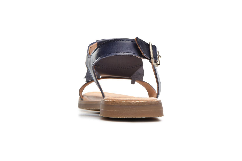 Sandales et nu-pieds Yep Melody (1371) Bleu vue droite