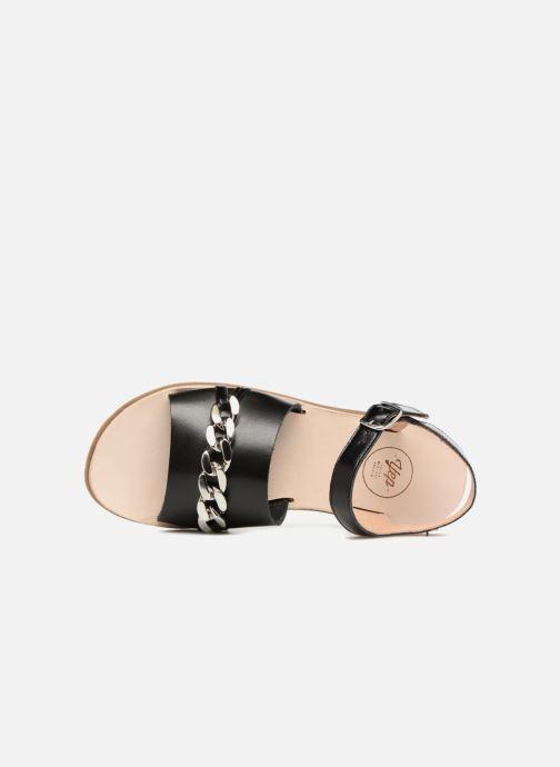 Sandales et nu-pieds Yep Mael Noir vue gauche