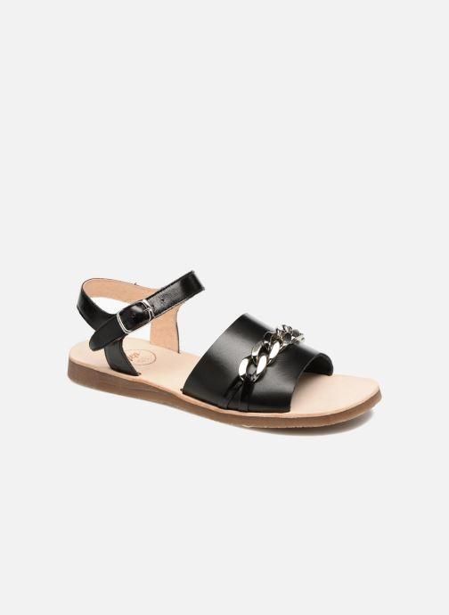 Sandales et nu-pieds Yep Mael Noir vue détail/paire