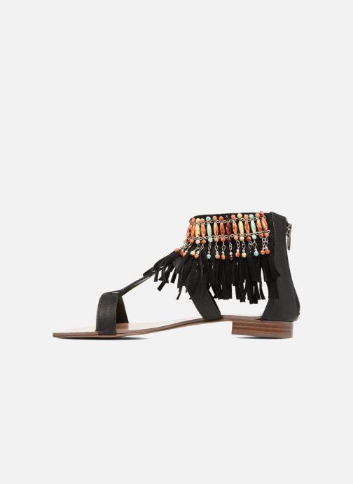 Sandalen Kaporal Loisi schwarz ansicht von vorne
