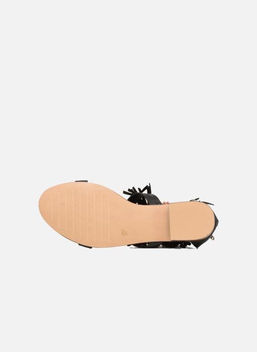 Sandalen Kaporal Loisi schwarz ansicht von oben