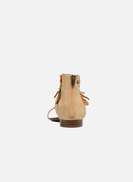 Sandales et nu-pieds Kaporal Loisi Marron vue droite