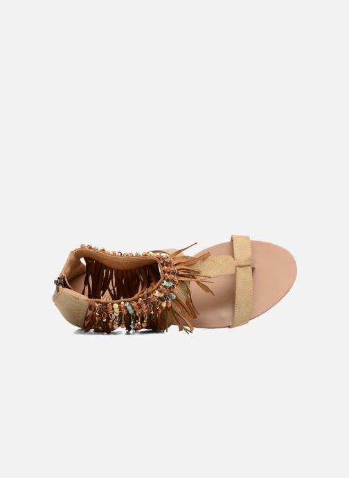 Sandales et nu-pieds Kaporal Loisi Marron vue gauche