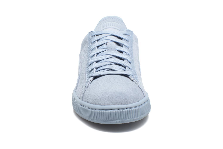 Baskets Puma Suede Classic Tonal W Bleu vue portées chaussures