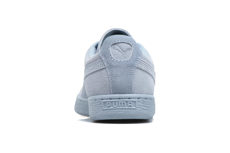 Baskets Puma Suede Classic Tonal W Bleu vue droite
