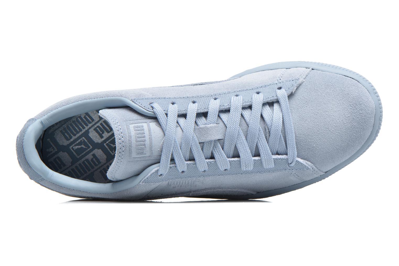 Baskets Puma Suede Classic Tonal W Bleu vue gauche