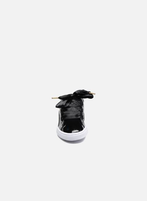 Baskets Puma Basket Heart Patent Wn's Noir vue portées chaussures
