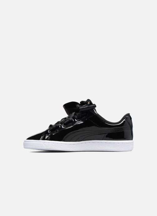 Baskets Puma Basket Heart Patent Wn's Noir vue face
