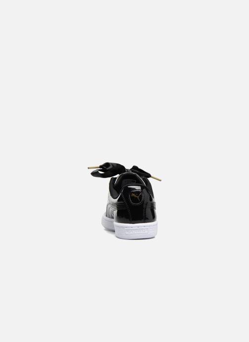 Sneakers Puma Basket Heart Patent Wn's Zwart rechts
