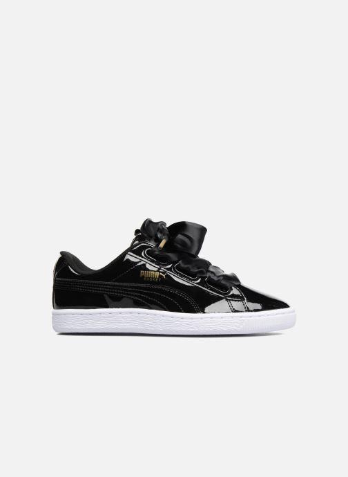 Sneakers Puma Basket Heart Patent Wn's Zwart achterkant
