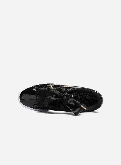 Sneakers Puma Basket Heart Patent Wn's Zwart links