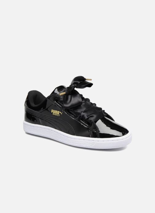 Sneakers Puma Basket Heart Patent Wn's Zwart detail