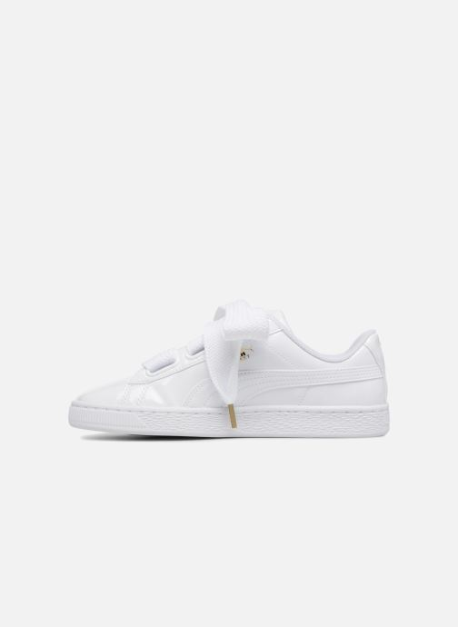 Sneakers Puma Basket Heart Patent Wn's Wit voorkant