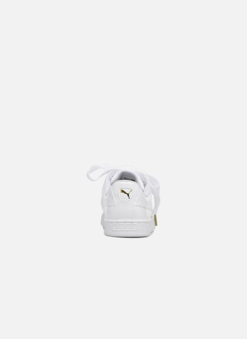 Sneakers Puma Basket Heart Patent Wn's Wit rechts