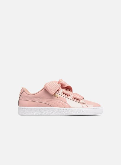 Baskets Puma Basket Heart Patent Wn's Rose vue haut