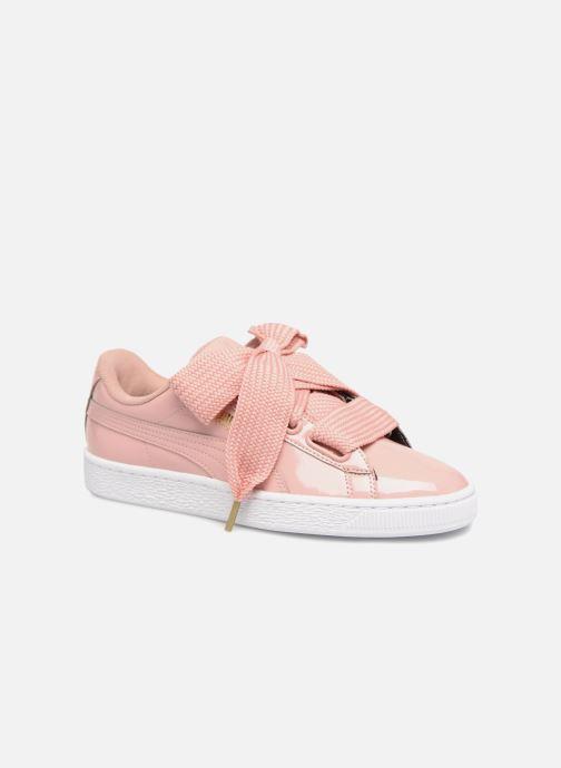 Sneaker Puma Basket Heart Patent Wn's rosa detaillierte ansicht/modell