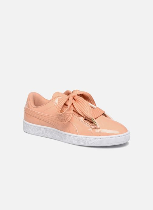 Trainers Puma Basket Heart Patent Wn's Orange detailed view/ Pair view
