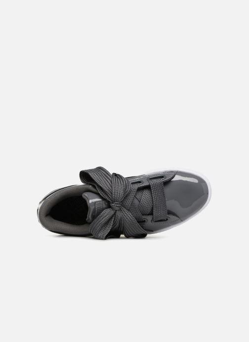 Sneakers Puma Basket Heart Patent Wn's Grigio immagine sinistra