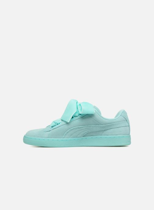 Baskets Puma Suede Heart Reset Wn's Bleu vue face