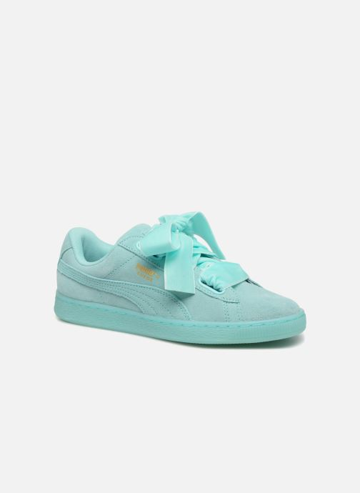 puma heart soft bleu