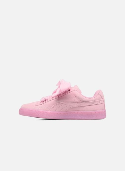 Sneakers Puma Suede Heart Reset Wn's Rosa immagine frontale