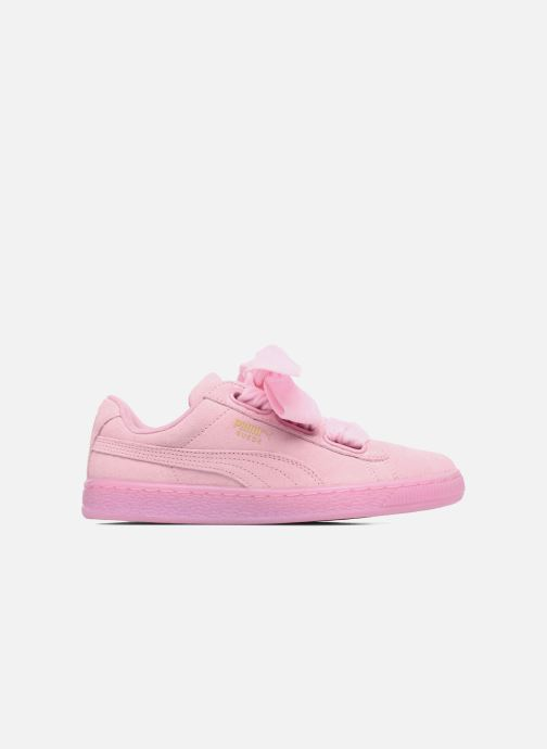 Sneakers Puma Suede Heart Reset Wn's Rosa immagine posteriore