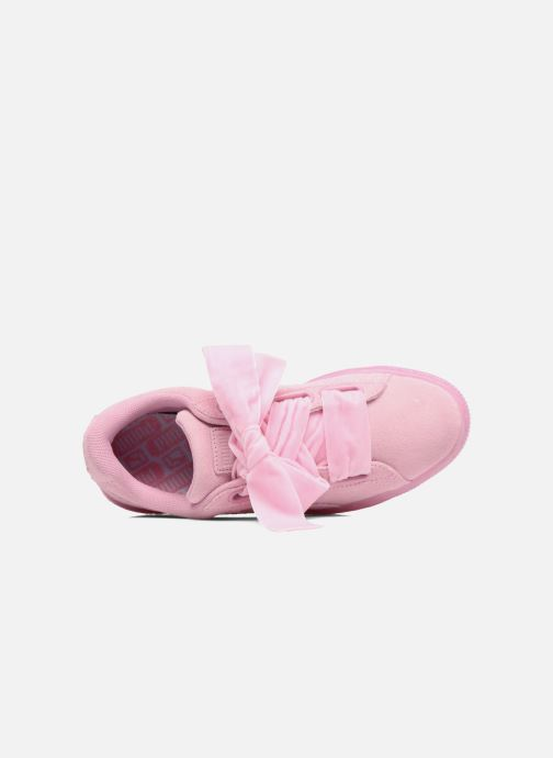 Sneakers Puma Suede Heart Reset Wn's Rosa immagine sinistra