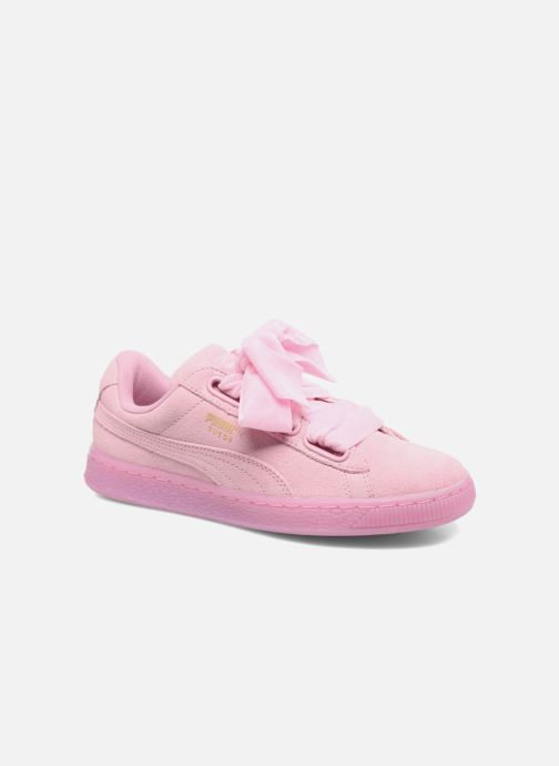 new style 1ae44 95486 Baskets Puma Suede Heart Reset Wn s Rose vue détail paire