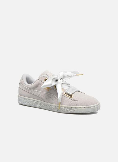 4ef2aa1dcf1 Puma Suede Heart Satin Wn's (Grijs) - Sneakers chez Sarenza (290042)