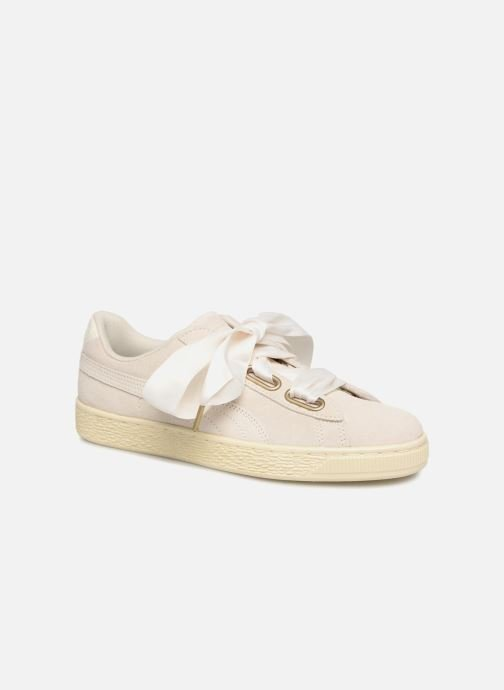 Sneaker Damen Suede Heart Satin Wn's