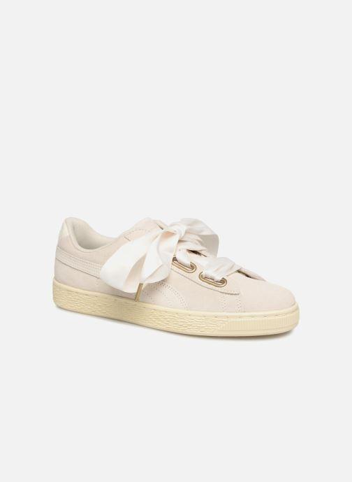 Sneaker Puma Suede Heart Satin Wn's beige detaillierte ansicht/modell