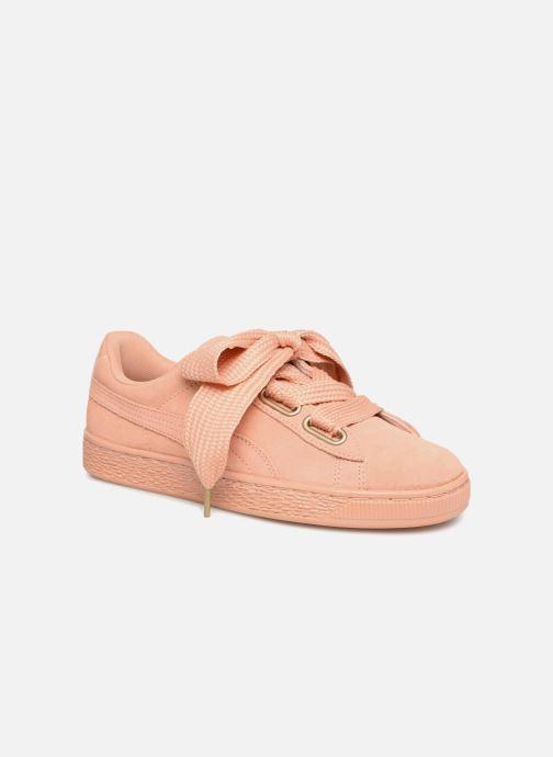 Sneaker Puma Suede Heart Satin Wn's orange 3 von 4 ansichten