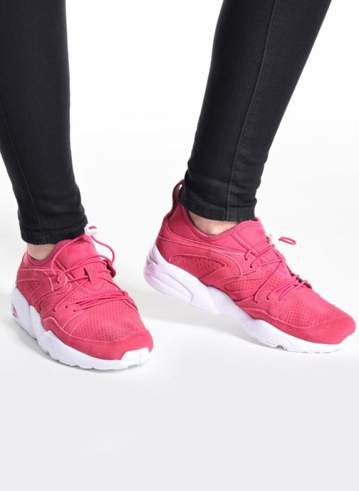 Puma Blaze of Glory SOFT Wn's (Rose) Baskets chez Sarenza