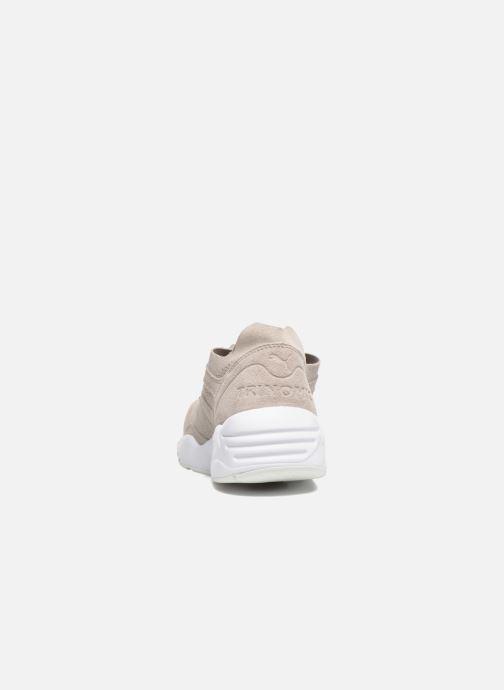 Pack Puma Baskets white R698 silver Drizzle Soft M j3L5A4R