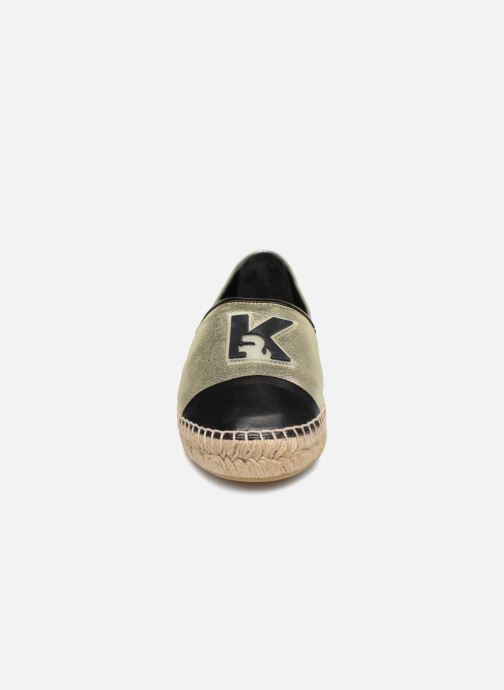 Leather Karl Champage Espadrille A115 Lagerfeld Espadrilles n0N8OkXwPZ